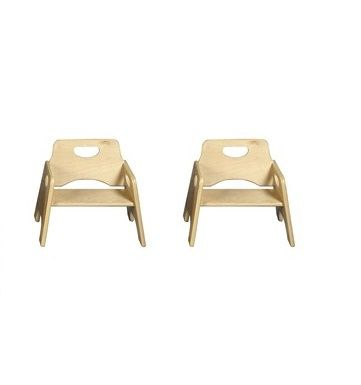 Wood kids chairs, preschool wooden chairs, wood seating, wood .