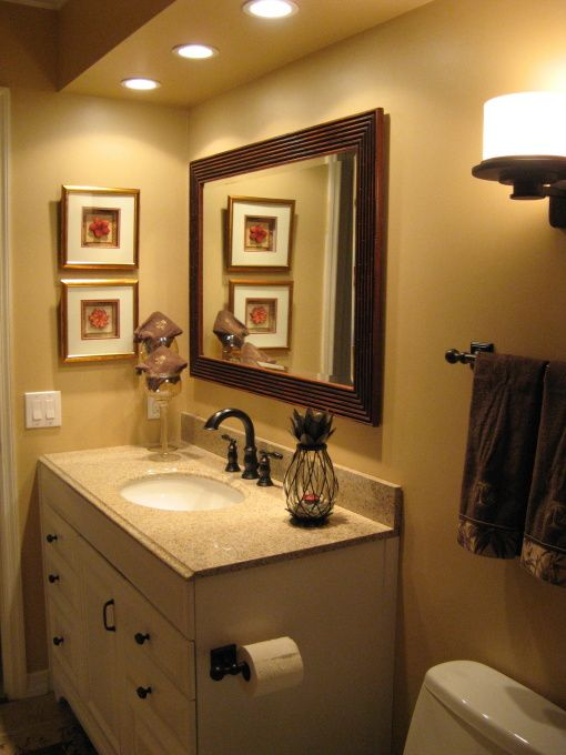 Tropical, Tommy Bahama | Guest bathroom decor, Bathroom decor .