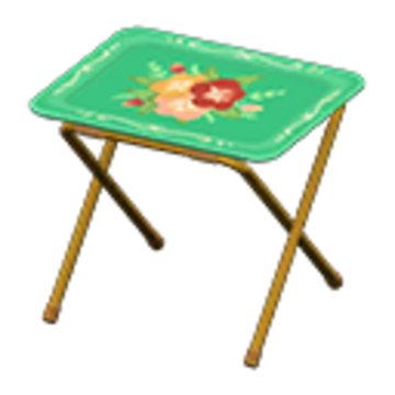 Vintage TV tray | Animal Crossing Wiki | Fand