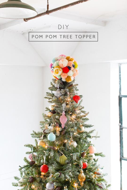 10 Unique Christmas Tree Toppers With Original DIY Desig