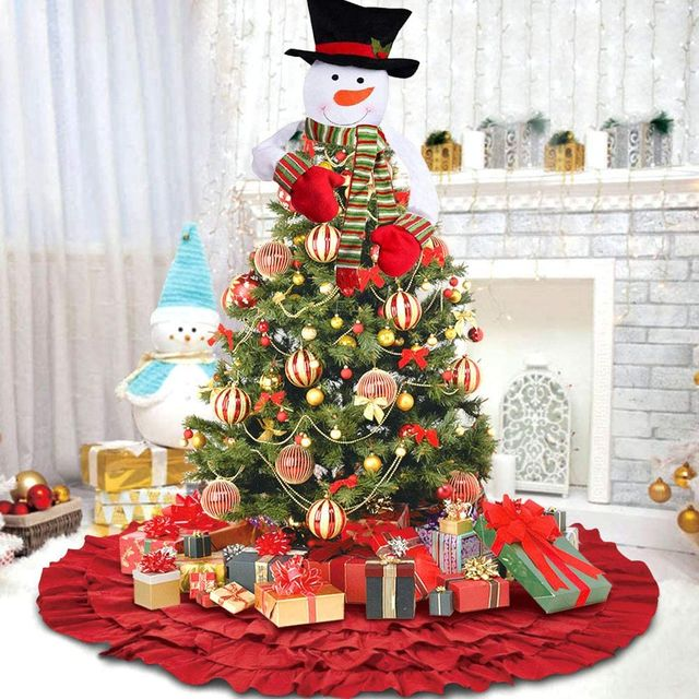 40 Unique Christmas Tree Topper Ideas - Best Ways to Top Holiday Tre
