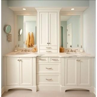 Double Vanity Base - Ideas on Fot