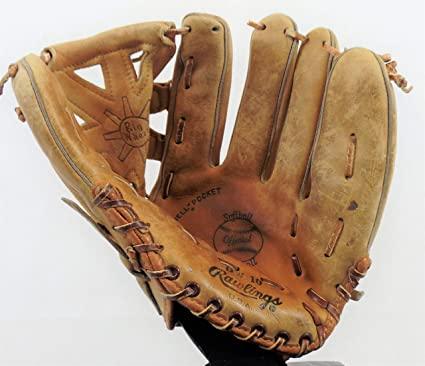 "Vintage 11.5"" Rawlings Baseball Glove - Model #DW10 - Great For ."