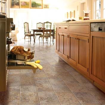 Pin by Angelica Masson on Home sweet home   Vinyl flooring kitchen .