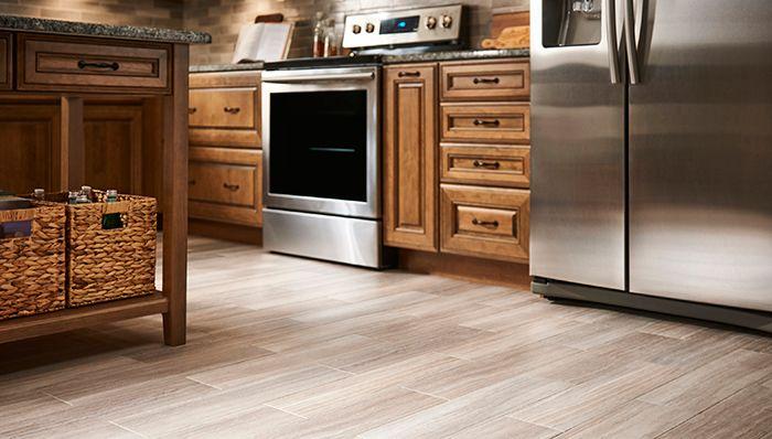 Vinyl Wood-look Flooring Ide