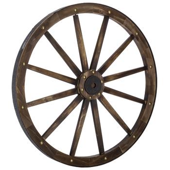 Wagon Wheel Wood Wall Decor   Hobby Lobby   4558