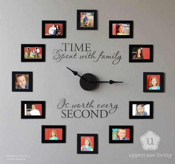 DIY Wall Clock Ideas for Decoration – dle-destek.com in 2020 | Diy .
