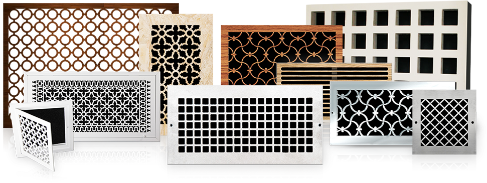 Decorative Register And Vent Covers | Custom Ven