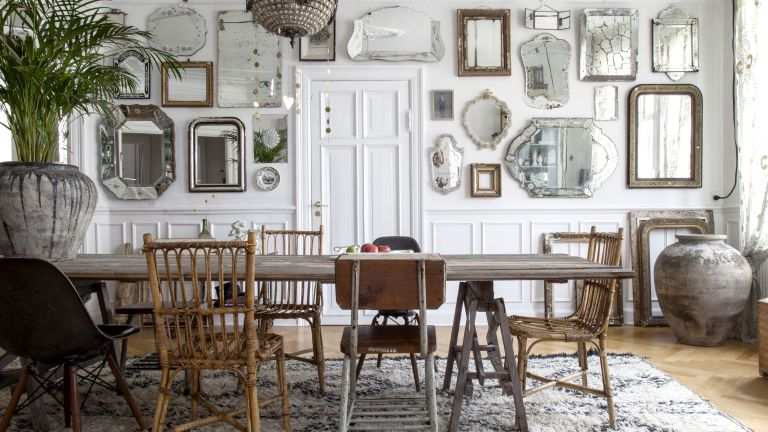 Wall panelling: a timeless way to add character to your home .