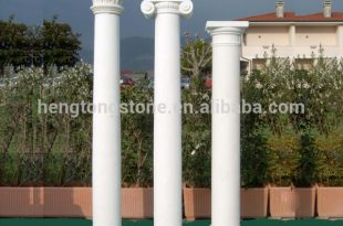 White marble wedding pillars columns for sale, View wedding .