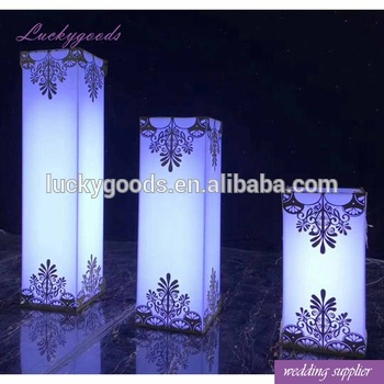 Ldj863 Plastic Pillars For Weddings Plastic Wedding Pillars .