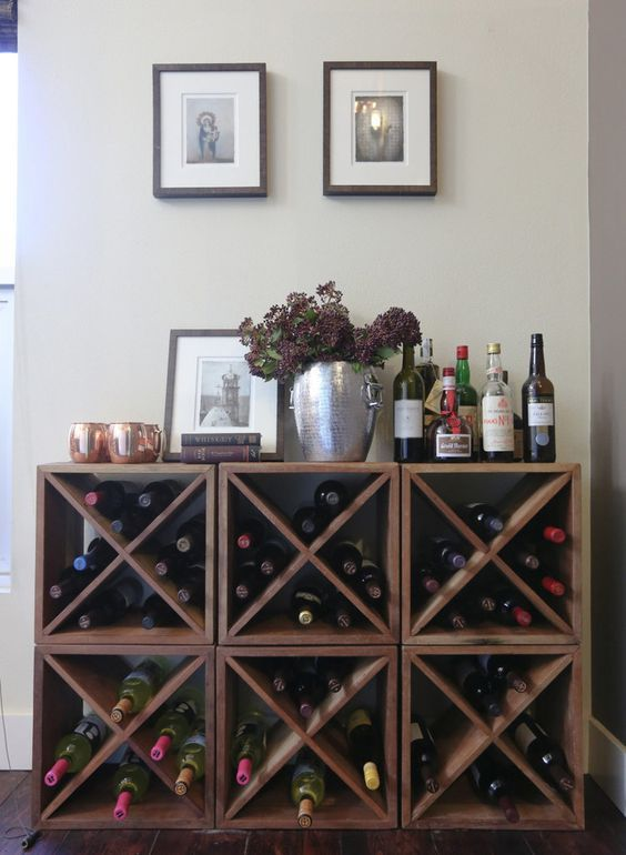 22 Diy Wine Rack Ideas, Offer A Unique Touch To Your Home | Diy .