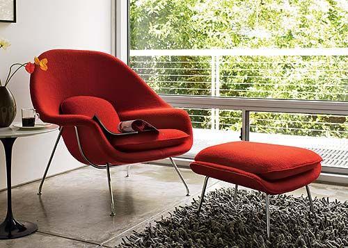 Scavenger: Knoll Saarinen Womb Chair for $2500 in 2020 | Eero .