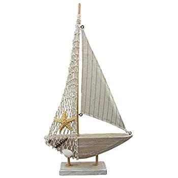 Wooden Boat Decor
