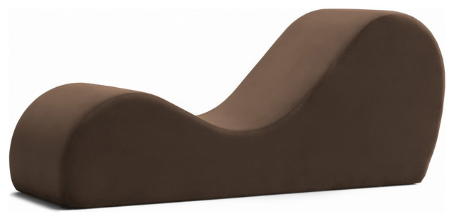 Avana Chaise Lounge Yoga Chair - Contemporary - Indoor Chaise .