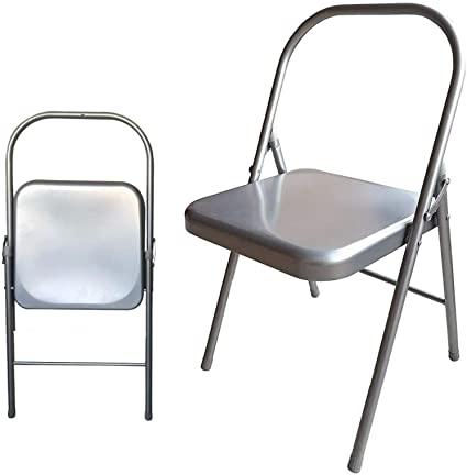 Amazon.com : Samadhaan Iyengar Backless Yoga Chair - Prop for .