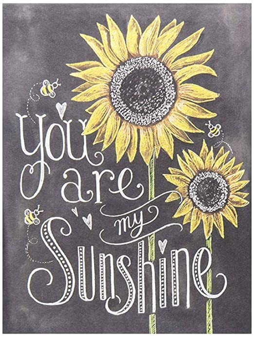 Amazon.com: BEROSS You are My Sunshine - Sunflower Sign, Sunflower .