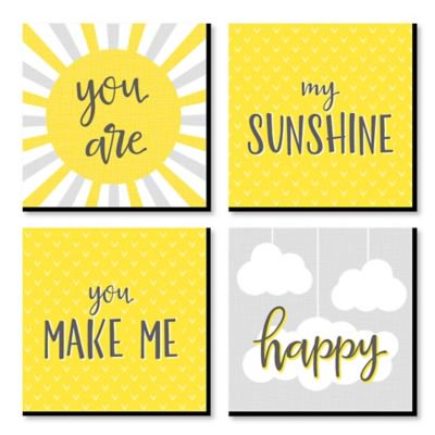 You are My Sunshine - Kids Room, Nursery Decor and Home Decor - 11 .